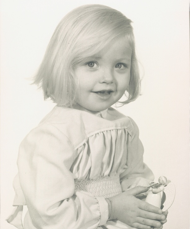 Anja Josten als Kind