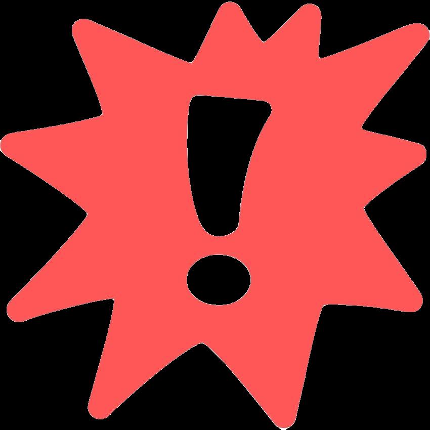 Ausrufezeichen rot 500x500 transparent