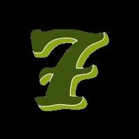 sieben grün transparent